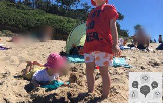 Survivre à une journée à la plage avec les enfants