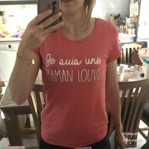 Tee-shirt Maman Louve