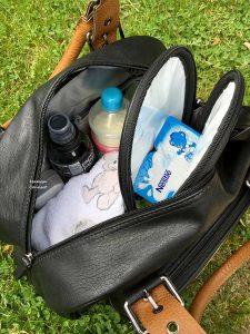 Vue intétieure sac à langer Baby On Board