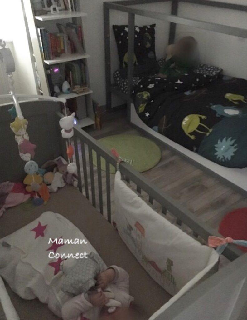 1 chambre pour 2 enfants