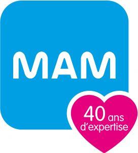 logo MAM 40 ans