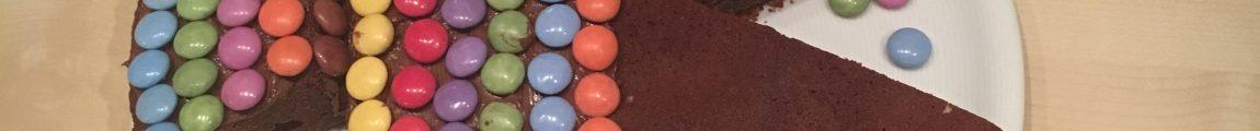 Gâteau au chocolat poisson smarties