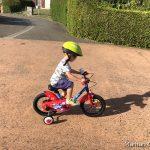 Passer de la draisienne au vélo de «grand» sans roulette