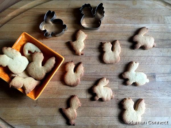 Biscuits sablés Pâques