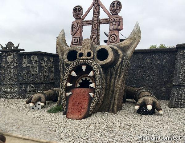 Dragon Musée Robert Tatin