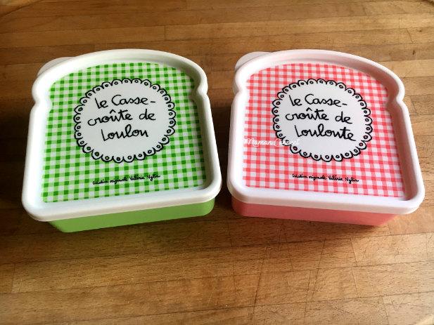 boite gateaux enfant lunchbox