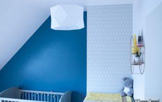 La chambre de Louloutte au style scandinave
