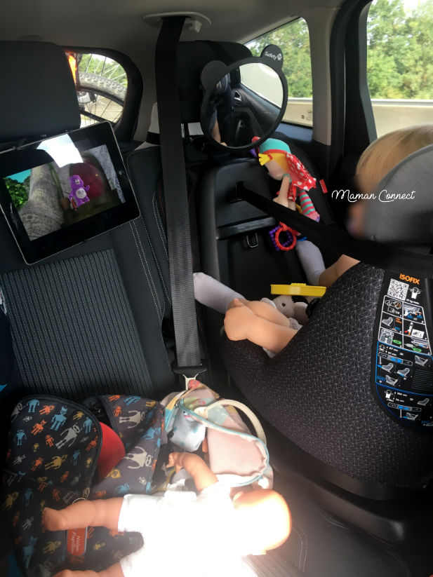 Support Tablette Voiture Maman Connect