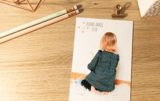 Carte de vœux personnalisée avec PopCarte {Avis & Concours}