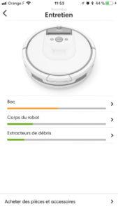Entretien iRobot