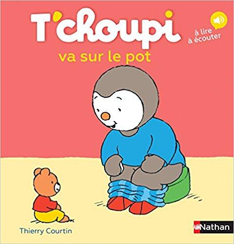 Livre Tchoupi va sur le pot