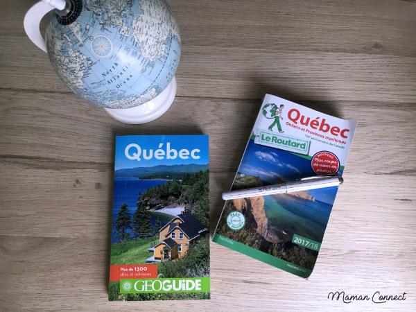 Guides Québec - road trip famille