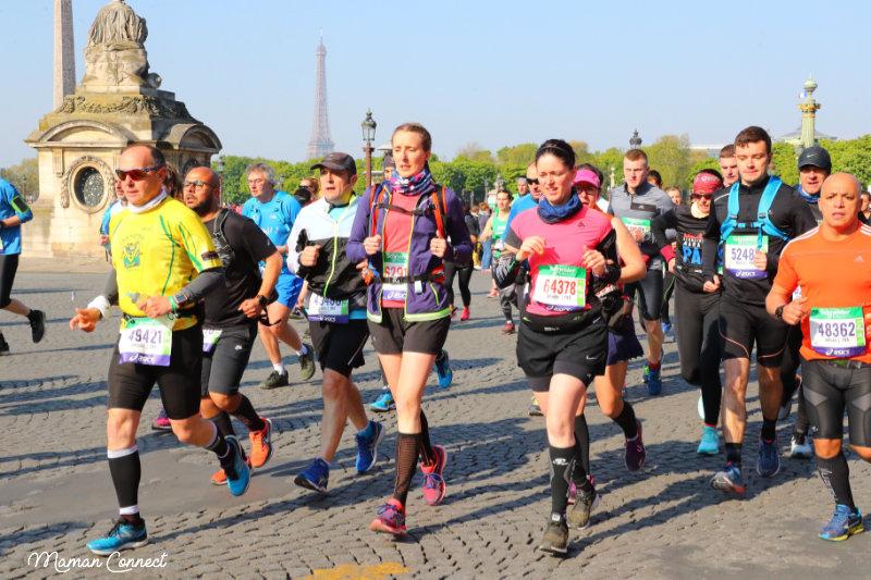 Marathon Paris pavés