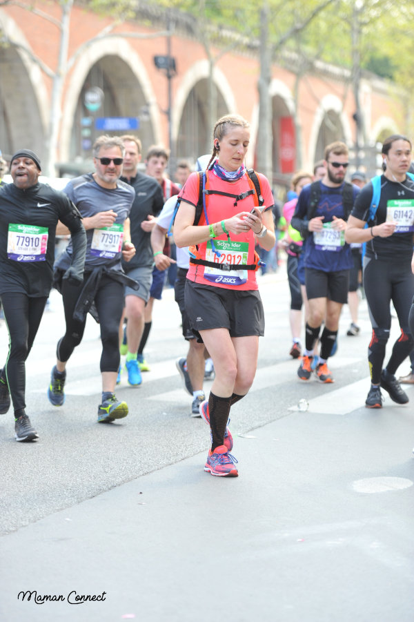 Blogueuse marathon Paris