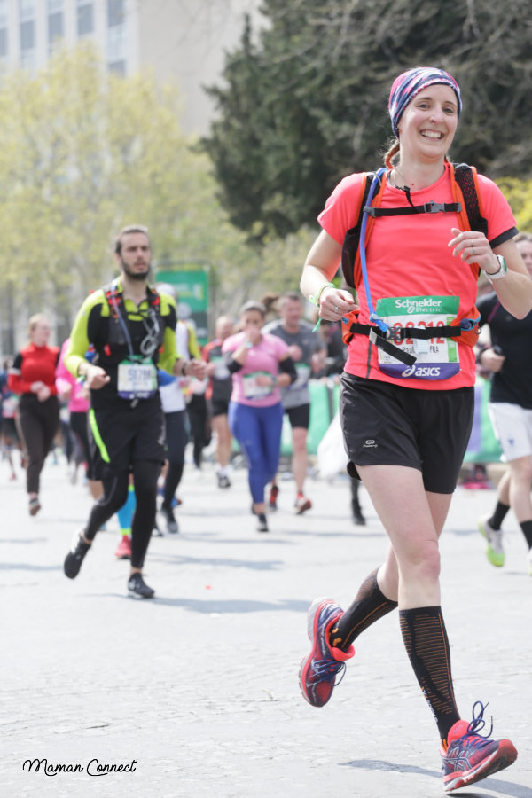 Keep smiling marathon paris