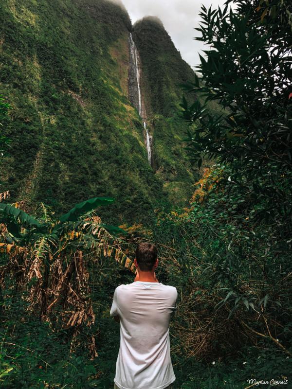 Cascade blanche le Réunion