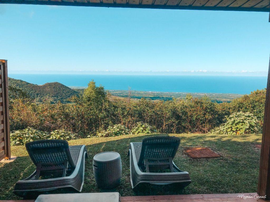 Diana dea Lodge vue océan