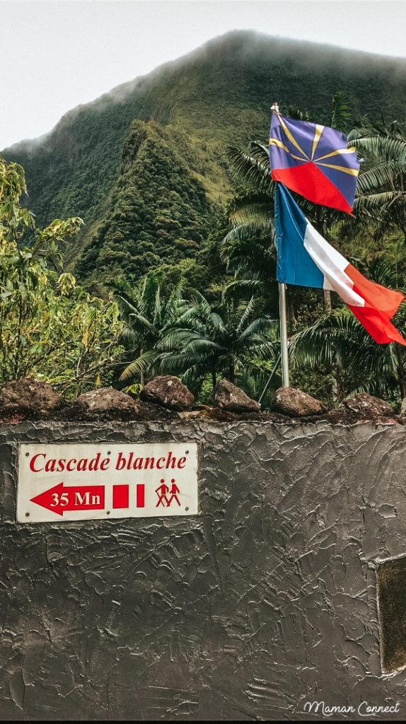 Randonnée Cascade Blanche Réunion